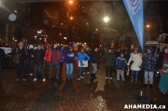 36 AHA MEDIA at Idle No More Flash Mob against Oprah Winfrey's Show in Vancouver