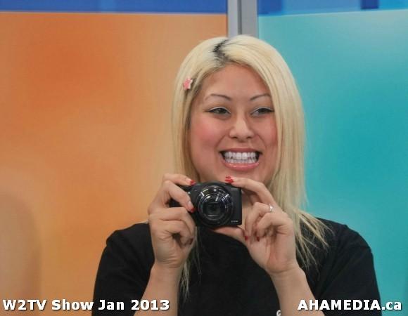 36 AHA MEDIA at W2TV Show taping Jan 20 2013 at Shaw Studios