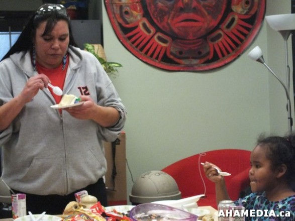 37 AHAMEDIA at Birthday Party and End of 30 Hr Fast for Idle No More