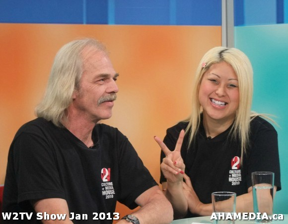 38 AHA MEDIA at W2TV Show taping Jan 20 2013 at Shaw Studios