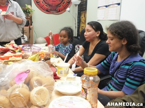 38 AHAMEDIA at Birthday Party and End of 30 Hr Fast for Idle No More
