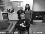 4 AHA MEDIA at W2TV Show taping Jan 20 2013 at Shaw Studios