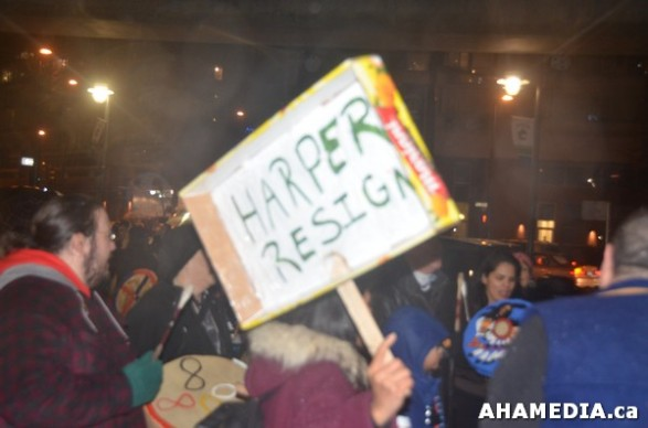 41 AHA MEDIA at Idle No More Flash Mob against Oprah Winfrey's Show in Vancouver