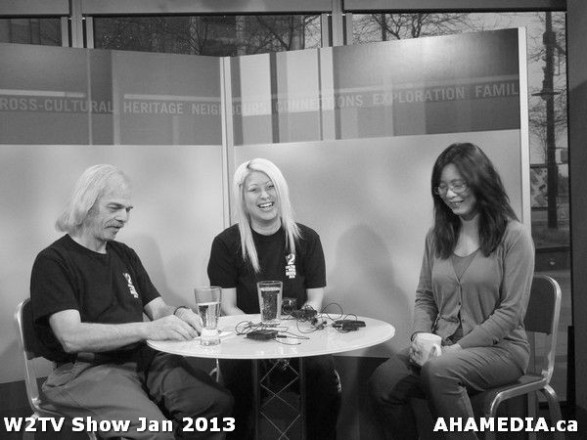 41 AHA MEDIA at W2TV Show taping Jan 20 2013 at Shaw Studios