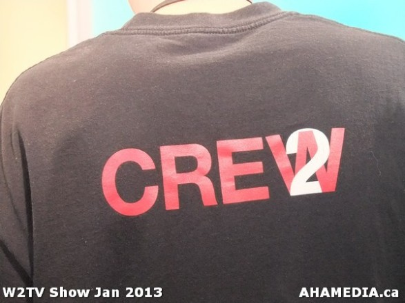 42 AHA MEDIA at W2TV Show taping Jan 20 2013 at Shaw Studios