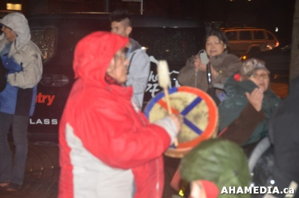 43 AHA MEDIA at Idle No More Flash Mob against Oprah Winfrey's Show in Vancouver