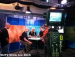 43 AHA MEDIA at W2TV Show taping Jan 20 2013 at Shaw Studios