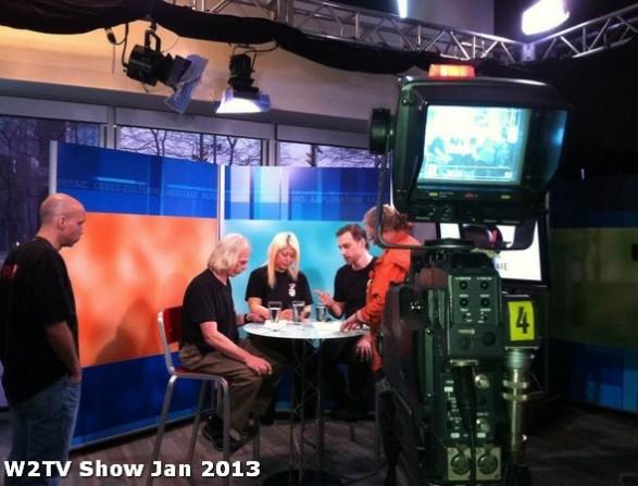 43 AHA MEDIA at W2TV Show taping Jan 20 2013 at Shaw Studios
