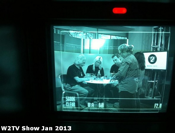 44 AHA MEDIA at W2TV Show taping Jan 20 2013 at Shaw Studios