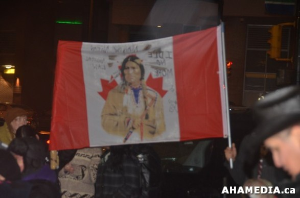 49 AHA MEDIA at Idle No More Flash Mob against Oprah Winfrey's Show in Vancouver