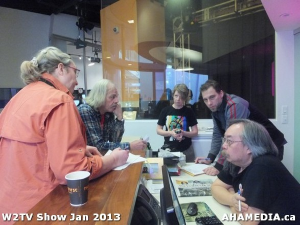 5 AHA MEDIA at W2TV Show taping Jan 20 2013 at Shaw Studios