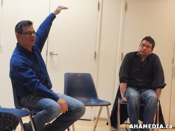 5 AHA MEDIA sees Scott Clark of ALIVE speak on Idle No More at Mount Pleasant Neighbourhood House in