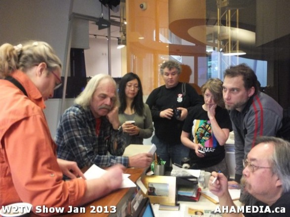 6 AHA MEDIA at W2TV Show taping Jan 20 2013 at Shaw Studios