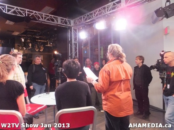 7 AHA MEDIA at W2TV Show taping Jan 20 2013 at Shaw Studios
