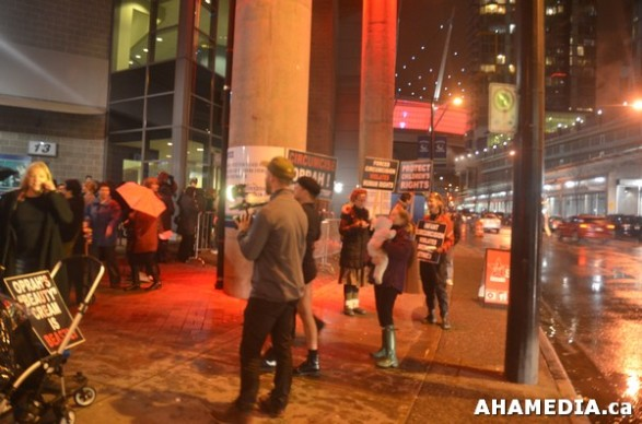 8 AHA MEDIA at Idle No More Flash Mob against Oprah Winfrey's Show in Vancouver