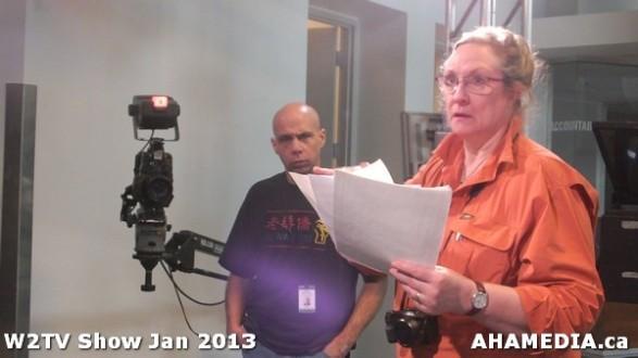 8 AHA MEDIA at W2TV Show taping Jan 20 2013 at Shaw Studios