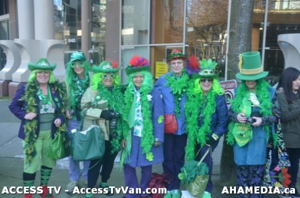 3 AHA MEDIA films St Patrick's Day Parade 2013 in Vancouver