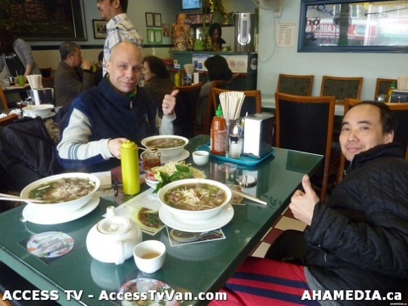 8 AHA MEDIA films Pho lunch