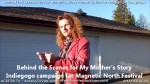 10 AHA MEDIA films Behind the Scene Promo Vid for My Mother's Story in Vancouver