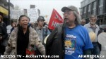 100  AHA MEDIA supports Homeless Dave Hunger Strike to City Hall inVancouver