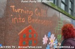 116 AHA MEDIA  and ACCESS TV films Paint Party for Housing inVancouver