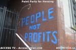 117 AHA MEDIA  and ACCESS TV films Paint Party for Housing in Vancouver
