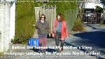 12 AHA MEDIA films Behind the Scene Promo Vid for My Mother's Story inVancouver