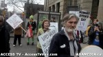 12  AHA MEDIA supports Homeless Dave Hunger Strike to City Hall in Vancouver