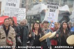 128  AHA MEDIA supports Homeless Dave Hunger Strike to City Hall in Vancouver