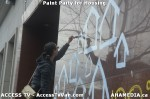 132 AHA MEDIA  and ACCESS TV films Paint Party for Housing inVancouver