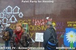 140 AHA MEDIA  and ACCESS TV films Paint Party for Housing in Vancouver