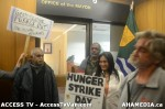 152  AHA MEDIA supports Homeless Dave Hunger Strike to City Hall in Vancouver