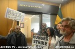 153  AHA MEDIA supports Homeless Dave Hunger Strike to City Hall in Vancouver