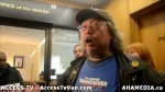 166  AHA MEDIA supports Homeless Dave Hunger Strike to City Hall in Vancouver