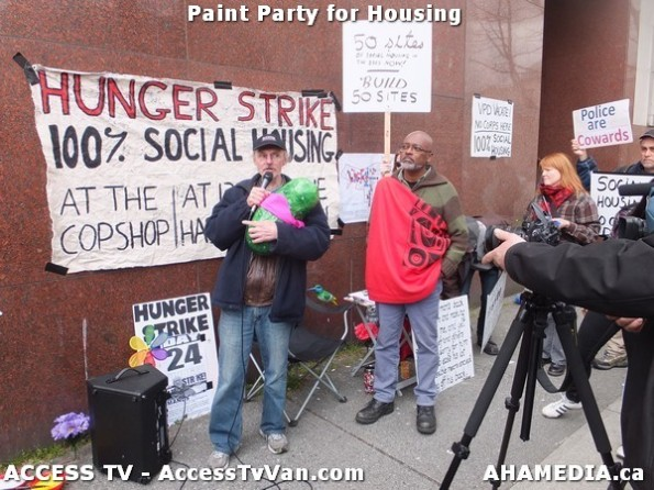 180 AHA MEDIA  and ACCESS TV films Paint Party for Housing in Vancouver