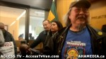 181  AHA MEDIA supports Homeless Dave Hunger Strike to City Hall in Vancouver
