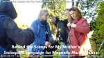 2 AHA MEDIA films Behind the Scene Promo Vid for My Mother's Story inVancouver