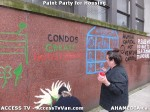 216 AHA MEDIA  and ACCESS TV films Paint Party for Housing in Vancouver
