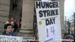 23  AHA MEDIA supports Homeless Dave Hunger Strike to City Hall in Vancouver