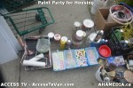 25 AHA MEDIA  and ACCESS TV films Paint Party for Housing in Vancouver