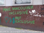 250 AHA MEDIA  and ACCESS TV films Paint Party for Housing in Vancouver