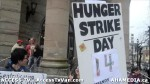 26  AHA MEDIA supports Homeless Dave Hunger Strike to City Hall in Vancouver