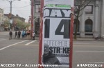3  AHA MEDIA supports Homeless Dave Hunger Strike to City Hall in Vancouver