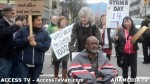 31  AHA MEDIA supports Homeless Dave Hunger Strike to City Hall in Vancouver