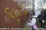 32 AHA MEDIA  and ACCESS TV films Paint Party for Housing inVancouver