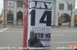 4  AHA MEDIA supports Homeless Dave Hunger Strike to City Hall inVancouver