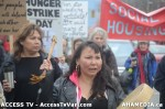 51  AHA MEDIA supports Homeless Dave Hunger Strike to City Hall in Vancouver