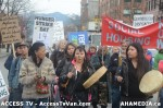 56  AHA MEDIA supports Homeless Dave Hunger Strike to City Hall in Vancouver