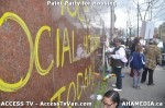 57 AHA MEDIA  and ACCESS TV films Paint Party for Housing in Vancouver