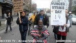 57  AHA MEDIA supports Homeless Dave Hunger Strike to City Hall in Vancouver